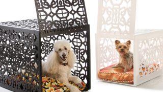 モダン&ラグジュアリーなクレート/Luxury pet crates