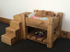 BESPOKE LUXURY RAISED DOG BED