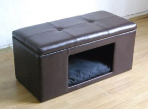 HomePop Comfy Pet Bed Bench