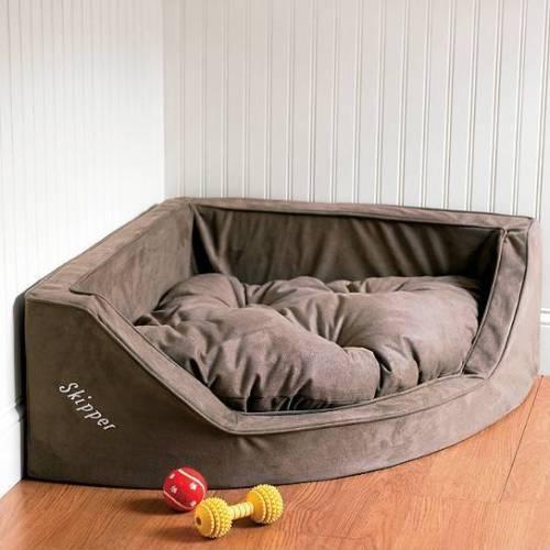 コーナードッグベッド