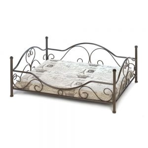 Black Metal Frame Dog Bed