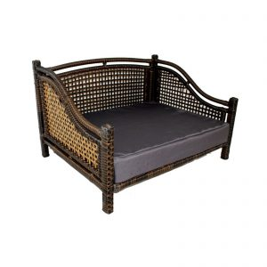 Iconic Pet Maharaja Rattan Dog Sofa