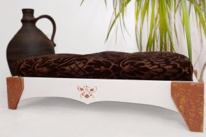 MyFancyCraft 木製ドッグベッド