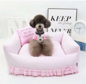 Handmade Princess Dog Bed