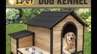 カッコいい屋外用のデザイン犬小屋/Extra Large Wooden Dog Cabin