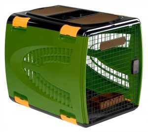 Deluxe Wire & Resin Pet Carrier