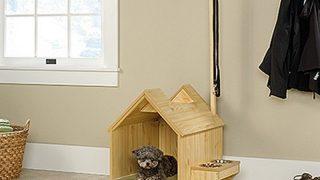 有名家具メーカが本気で作ったドッグハウス/Inside  Light Wood Dog House