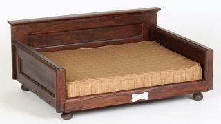 レトロ調で夏も快適なドッグベッド/Dogstuff Depot Dog Bed