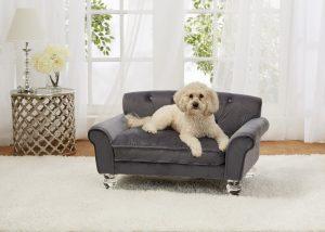 Velvet Dog Sofa