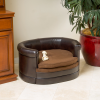 可愛い楕円形デザインのドッグベッド/Round Dog Sofa