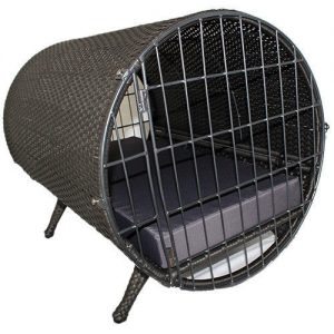 斬新なデザインのお洒落ドッグクレート/Iconic Pet Tubular Crate