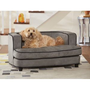 ビロード調のふんわりドッグベッド/Ultra Plush Dog Bed