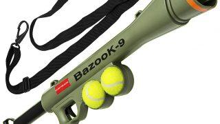 お洒落な犬用ボールキャノン/BazooK-9 Tennis Ball Launcher