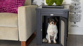 サイドテーブル型ドッグクレート/Furniture Dog Crate