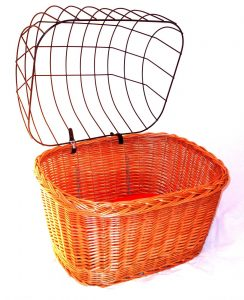 お洒落なドイツ製ドッグバスケット/Bike&Bicycle Dog Basket