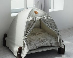 可愛いテント風ドッグベッド/High Quality Dog Bed Tent