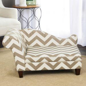 お洒落で涼し気なドッグソファー型ベッド/HomePop  Cool Dog Bed