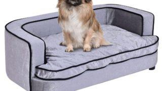 ゆったり快適のドッグベッド/Giantex Pet Lounge Sofa